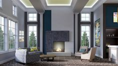 Modern Clubroom Design #SomersetPark #Vidazme #InteriorDesign #InteriorArchitecture #ModernInterior #MultiFamily