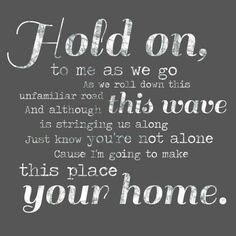 Phillip Phillips – Hold On - Music Lyric Art Canvas – home decor, wall decor… Home Lyrics, Music Lyrics Art, Lyric Art, Music Quotes, Phillips Phillips, Personalized Gifts For Mom, Handmade Gifts, Canvas Home, My New Room