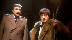 The Brigadier with the Second Doctor