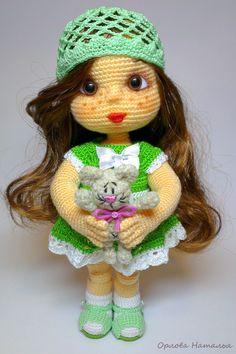 Лиза - Вязаные ребетёнки - Галерея - Форум почитателей амигуруми (вязаной игрушки)