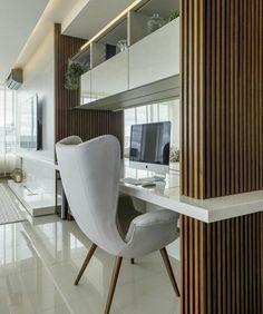 Inspiração home tv + home office