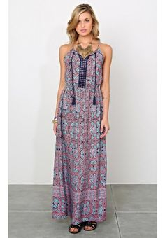 Summer Notion Maxi Dress