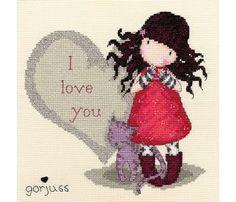 Amazon.com: Bothy Threads Gorjuss Purrrrrfect Love Kit: Home & Kitchen