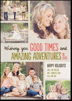 Amazing adventures card.