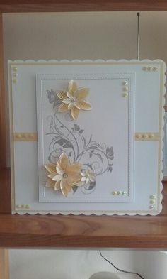 Used Honey Doo Stamps Honey Doo Crafts, Heartfelt Creations Cards, Wedding Cards Handmade, Birthday Card Design, Birthday Cards For Women, Embossed Cards, Flower Cards, Hobbies And Crafts, Anniversary Cards