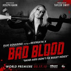 Meet Destructa X.  @elliegoulding  #BadBloodMusicVideo