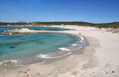 Rena Majori beach (Aglientu), a few kilometres from Santa Teresa di Gallura.