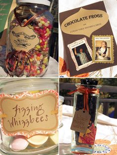 A Harry Potter themed dessert buffet - I'm a muggle in heaven!