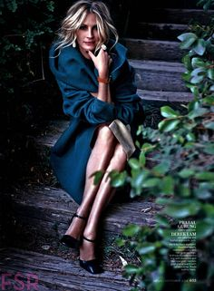 The coat (Julia Roberts by Michelangelo Di Battista for InStyle US September 2014)