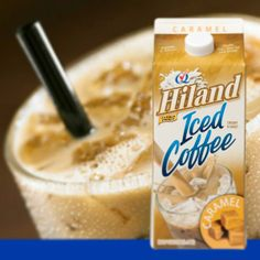 Frozen Caramel Iced Coffee Ingredients: 4 frozen cubes Hiland Dairy Caramel Iced Coffee 3/4 cup Hiland Dairy Caramel Iced Coffee Whipped Cream (optional) Caramel Syrup (optional) Instructions: Blend cubes and iced coffee together in a blender until ice is completely crushed. Top with whipped cream and caramel syrup (optional). Enjoy! #HilandDairy