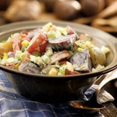 Eating Well: Country Potato Salad