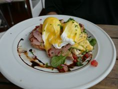 Amazing breakfast at Corelli's in Devonport, New Zealand