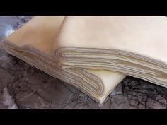 عجين مورق في 10 دقائق بدون مجمد / Blätterteig in 10 Minuten ausdrücken, Pasta Sable, Puff Pastry Dough, Humble Pie, Dim Sum, Croissant, Tart, Bakery, Food And Drink, Bread