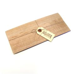 {Something in the Mail} – Wooden Envelopes