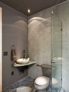 Pebble Bathroom Floor Design, Pictures, Remodel, Decor and Ideas - page 10