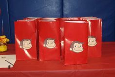Dane's Curious George Birthday Party  | CatchMyParty.com