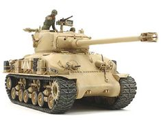 The Tamiya US M51 Super Sherman Model Kit in 1/35 scale from the plastic tank models range accurately recreates the real life Israeli variant of the US M4 Sherman medium tank.