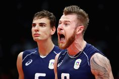 Ivan Zaytsev Photos - Ivan Zaytsev #9 of Italy celebrates with his team during the Men's Gold Medal Match between Italy and Brazil on Day 16 of the Rio 2016 Olympic Games at Maracanazinho on August 21, 2016 in Rio de Janeiro, Brazil. - Volleyball - Olympics: Day 16