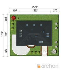 Projekt domu Dom w awokado - ARCHON+ Floor Plans, Construction, Flooring, How To Plan, American Houses, House, Building, Wood Flooring, Floor Plan Drawing