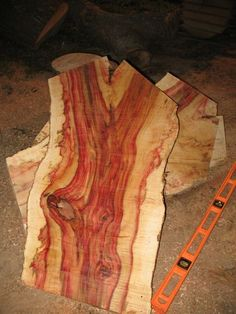 Boxelder Maple Wood Of highly figured wood