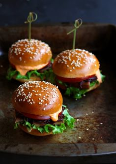 how to make vegetarian hamburgers