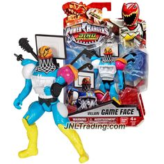 Bandai Year 2016 Saban's Power Rangers Dino Super Charge Series 5-1/2 Inch Tall Action Figure - Villain GAME FACE Saban's Power Rangers, Game Face, Year 2016, Just For Fun, Action Figures, Games, Collection, Food, Essen