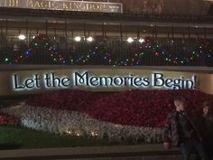 Let the Memories Begin.