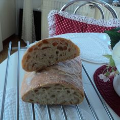 Výborný domáci chlieb (fotorecept) - recept | Varecha.sk Bread, Food, Basket, Brot, Essen, Baking, Meals, Breads, Buns