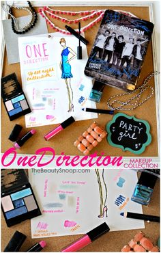 For the TWEEN in is all... the new One Direction makeup collection (review and tutorial) #makeupby1D