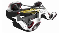Chevrolet Chaparral 2X VGT Concept Sketch by Charles Lefranc