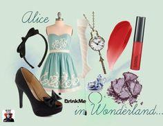 Inspired by Alice in Wonderland  # fashion disney