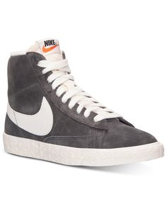 4c7c96a77dc17 Nike Women s Blazer Mid Suede Vintage Casual Sneakers from Finish Line -  Kids Finish Line Athletic