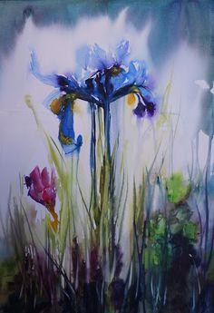 Japanese Iris. (c) atelierpetitemer