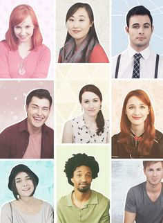 the lizzie bennet diaries Beautiful people everywhere...