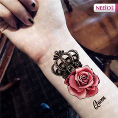 rose and lace tattoos on shoulder with names - Google Search