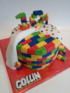 Birthday cake Lego