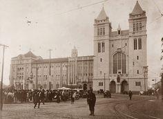 Largo e Mosteiro de São Bento.  São Paulo.  1916