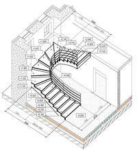Часто приходится встречать такую картину: застройщик возвел стены, залил (смонтировал) перекрытие, даже оставил проем под будущую лестницу и только после этого думает сможет ли его лестница быть бе…