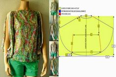 Moda e Dicas de Costura: BLUSA FÁCIL DE CORTAR E FAZER - 5