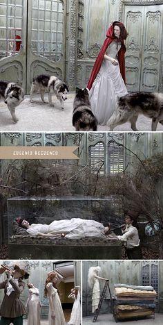 """Vogue Francia 2006 """"Dark fairy tales"""" Eugenio Recuenco"""