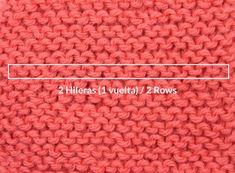 contar vueltas en punto Knit Crochet, Blog, Knitting, To Tell, Crochet Dresses, Tejidos, Manualidades, Sweater Vests, Tricot