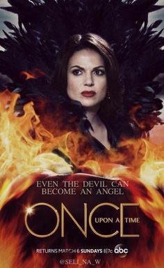 Awesome Regina on an awesome Once poster Even The Devil Can Become An Angel