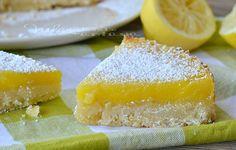 Torta al lemon bars ricetta dolce