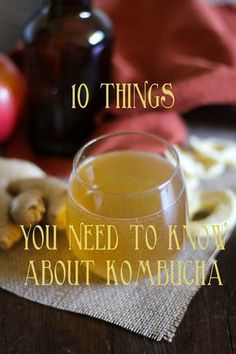 10 Things You Need To Know About Kombucha + Apple Ginger Kombucha Recipe | www.theroastedroot.net
