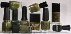 Military Green for Fall 2011 by alllacqueredup #Nail_Polish #alllacqueredup