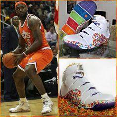 hot sale online 485ae 0611c LeBron 4 Fruity Pebbles. Nike SpandexJordan RetroTennis