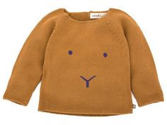 Oeuf NYC Bunny Sweater In Gold And Fig | Scandinavian Minimall