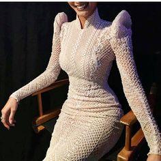 Pia Wurtzbach Wears Custom Modern Filipiniana Dress From Lian Martin Hijab Evening Dress, Evening Dresses, Prom Dresses, I Dress, Dress Outfits, Fashion Dresses, Dress Lace, Lovely Dresses, Elegant Dresses