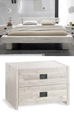 Bett weiss modern  Elegantes Luxus-Boxspringbett mit wundervollem Zubehör. Schluss ...