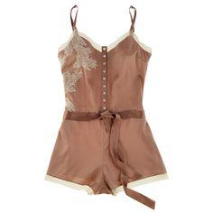 Buy Elle Macpherson Intimates luxury lingerie - Elle Macpherson Obsidian Maria teddy | Journelle Fine Lingerie